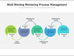 Multi Meeting Mentoring Process Management