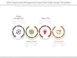Multi Opportunity Management Powerpoint Slide Design Templates