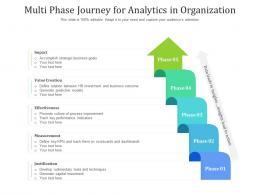 Multi Phase Journey For Analytics In Organization