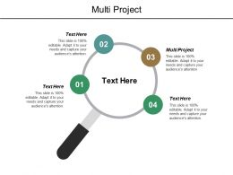 Multi Project Ppt Powerpoint Presentation File Information Cpb