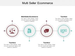 Multi Seller Ecommerce Ppt Powerpoint Presentation Professional Background Image Cpb