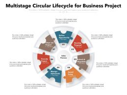 Multi Stage Circular Lifecycle For Business Project