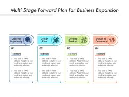 Multi Stage Forward Plan For Business Expansion