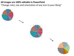 multi_staged_pie_chart_with_icons_flat_powerpoint_design_Slide02