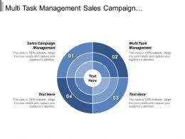 Multi Task Management Sales Campaign Management Marketing Professional Cpb