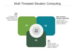Multi Threaded Situation Computing Ppt Powerpoint Presentation Layouts Information Cpb