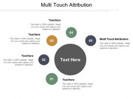 Multi Touch Attribution Ppt Powerpoint Presentation Ideas Icon Cpb