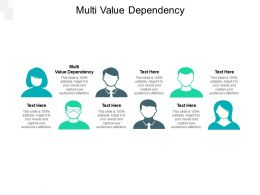 Multi Value Dependency Ppt Powerpoint Presentation Ideas Background Designs Cpb