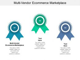 Multi Vendor Ecommerce Marketplace Powerpoint Presentation Layouts Example Introduction Cpb