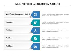 Multi Version Concurrency Control Ppt Powerpoint Presentation Graphics Cpb