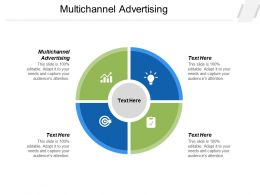 Multichannel Advertising Ppt Powerpoint Presentation Summary Example Topics Cpb