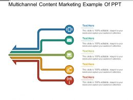 Multichannel Content Marketing Example Of Ppt