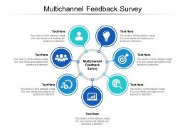 Multichannel Feedback Survey Ppt Powerpoint Presentation Gallery Templates Cpb