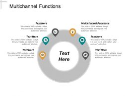 Multichannel Functions Ppt Powerpoint Presentation Inspiration Influencers Cpb