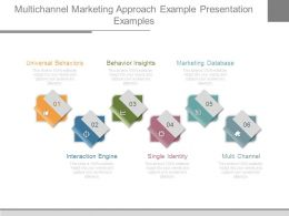 Multichannel Marketing Approach Example Presentation Examples