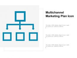Multichannel Marketing Plan Icon