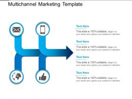 Multichannel Marketing Template Powerpoint Show