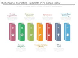 Multichannel Marketing Template Ppt Slides Show