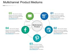 Multichannel Product Mediums Powerpoint Slide