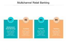 Multichannel Retail Banking Ppt Powerpoint Presentation Slides Example Cpb