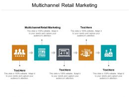 Multichannel Retail Marketing Ppt Powerpoint Presentation Professional Icon Cpb