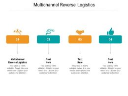 Multichannel Reverse Logistics Ppt Powerpoint Presentation Summary Icons Cpb