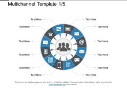 Multichannel Template 1 5 Powerpoint Slide Show