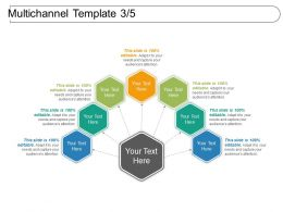 Multichannel Template 3 5 Powerpoint Slide Influencers