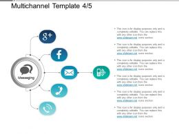 Multichannel Template 4 5 Powerpoint Slide Information