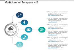 Multichannel Template 4 5 Powerpoint Slide Information