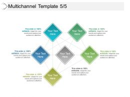 Multichannel Template 5 5 Powerpoint Slide Inspiration