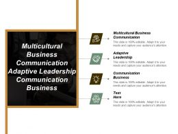 Multicultural Business Communication Adaptive Leadership Communication Business Inbound Marketing Cpb