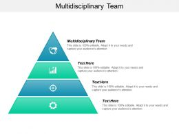 Multidisciplinary Team Ppt Powerpoint Presentation Pictures Layouts Cpb