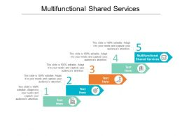Multifunctional Shared Services Ppt Powerpoint Presentation Inspiration Ideas Cpb
