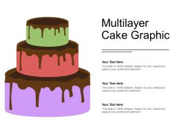 Multilayer Cake Graphic