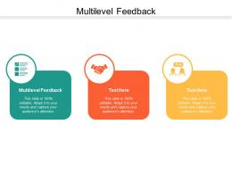Multilevel Feedback Ppt Powerpoint Presentation Infographic Template Show Cpb