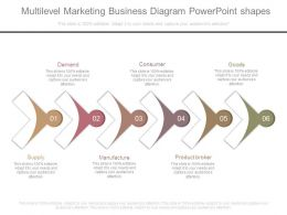 Multilevel Marketing Business Diagram Powerpoint Shapes