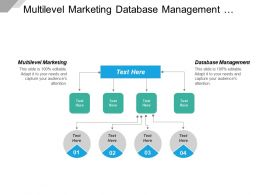 Multilevel Marketing Database Management Supply Chain And Logistics Strategy Cpb