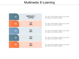 Multimedia E Learning Ppt Powerpoint Presentation Infographic Template Ideas Cpb