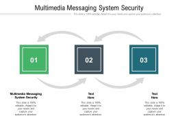 Multimedia Messaging System Security Ppt Powerpoint Presentation Professional Background Cpb