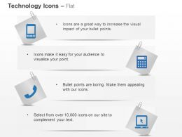 Multimedia Phones Communication Ppt Icons Graphics