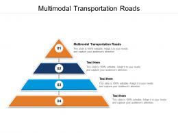 Multimodal Transportation Roads Ppt Powerpoint Presentation Model Summary Cpb