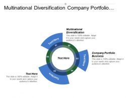 Multinational Diversification Company Portfolio Business Diversified Company Gap Analysis