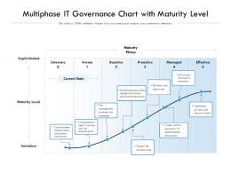 Multiphase IT Governance Chart With Maturity Level