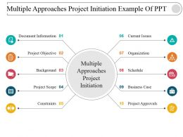 Multiple Approaches Project Initiation Example Of Ppt