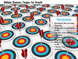 Multiple Business Targets For Growth Image Graphics For Powerpoint