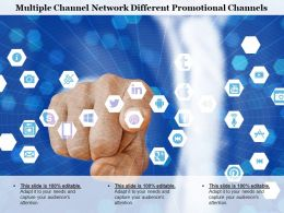 Multiple Channel Network Different Promotional Channels