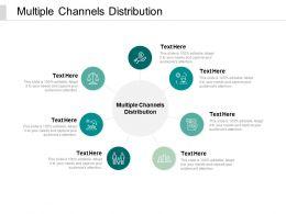 Multiple Channels Distribution Ppt Powerpoint Presentation Outline Deck Cpb