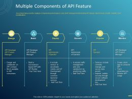 Multiple Components Of API Feature Ppt Powerpoint Presentation File Themes