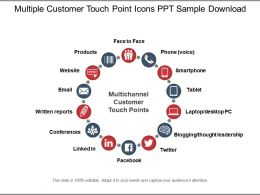 multiple_customer_touch_point_icons_ppt_sample_download_Slide01